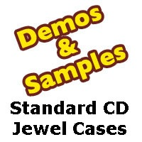 CD Jewel Case - Standard 10mm size - Samples from Am-Dig
