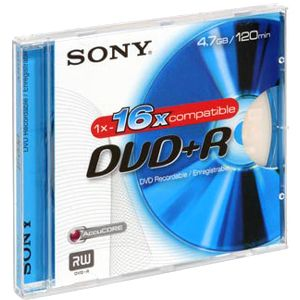 Sony DPR85L1 8.5GB DVD+R 2Dl 2.4x Jc from Am-Dig