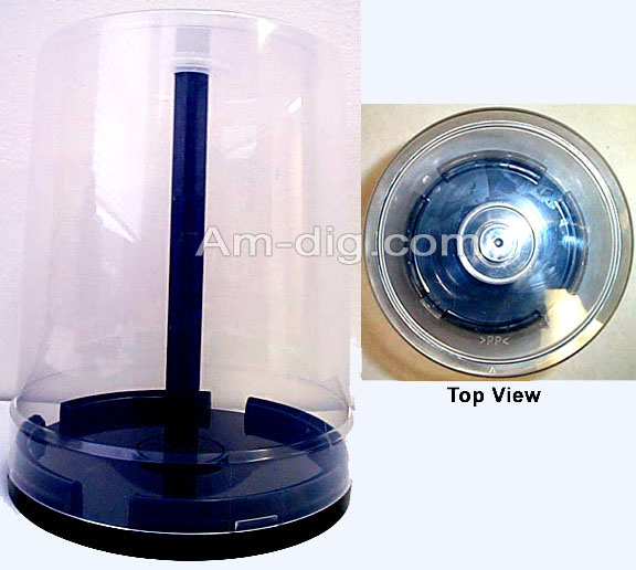 100 CD / DVD / BluRay Cakebox (Beehive) Spindle from Am-Dig