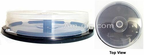 10 CD / DVD / BluRay Cakebox (Beehive) Spindle from Am-Dig