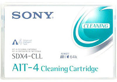 Sony SDX4CLLWW AIT 4 LONGER LENGTH CLEANING TAPE from Am-Dig