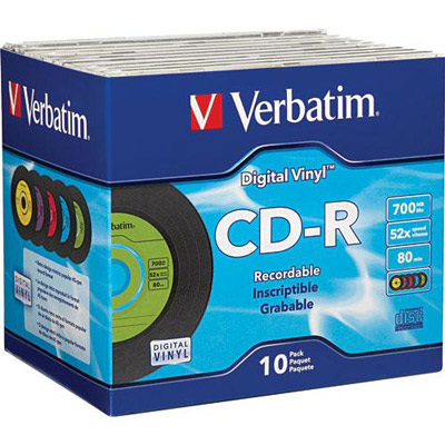 Verbatim 94501 DVD-RW 4.7GB 2X-1pk Jewel Case from Am-Dig