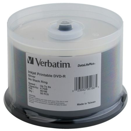 You may also be interested in the Verbatim 95179 DVD-RW Discs 4.7GB 2x Spindle 30pk.