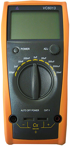 Victor VC6013 Digital Capacity Multimeter from Am-Dig
