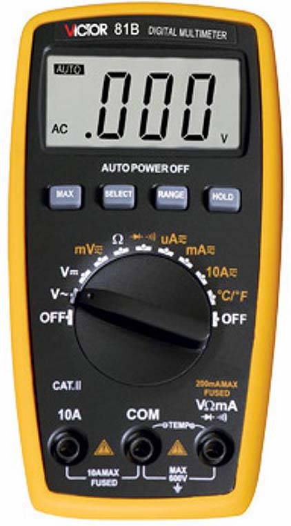 Victor VC81B 3 1/2 Digital Multimeter from Am-Dig