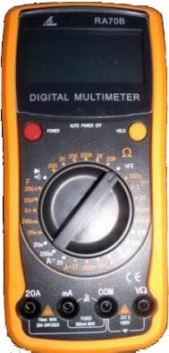 Victor RA70B Digital Multimeter W/ CapacitanceTest from Am-Dig