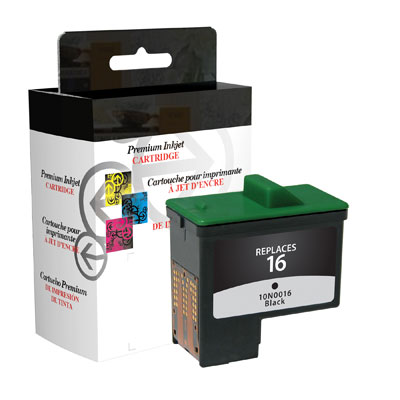 West Point 114763 Restored Lexmark #16 Black Ink from Am-Dig