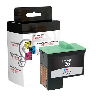 West Point 114963 Restored Lexmark #26 Color Ink from Am-Dig