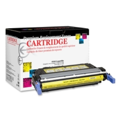 West Point 200172P Restored HP Q5952A Yellow Toner from Am-Dig