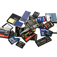 See what's in the Memory Cards, Drives & Media category.
