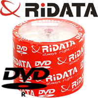 See what's in the Ridata/Ritek Recordable DVD category.