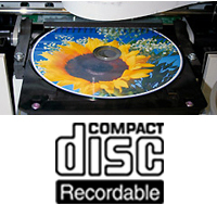 InkJet Printable CD-Rs