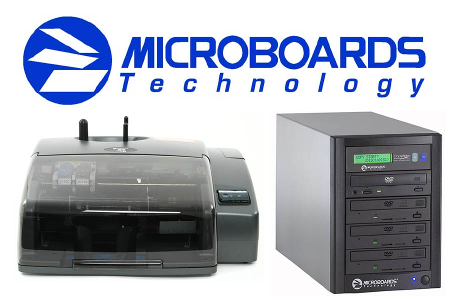 Microboards Duplication, Recording and Disc Printing Equipment